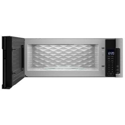 1.1 cu. ft. Over the Range Low Profile Microwave Hood Combination in Fingerprint Resistant Stainless Steel