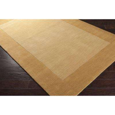 Foxcroft Gold 2 ft. x 3 ft. Indoor Area Rug