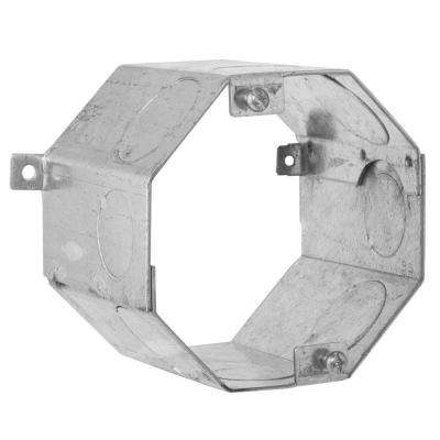 4 in. Octagon Welded Concrete Ring, 3-1/2 in. Deep with 3/4 and 1 in. Knockouts (20-Pack)