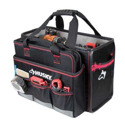 19 in. Pro Hybrid Tote with Tool Organizer