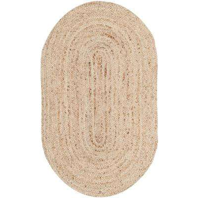Cape Cod Natural 3 ft. x 5 ft. Oval Area Rug