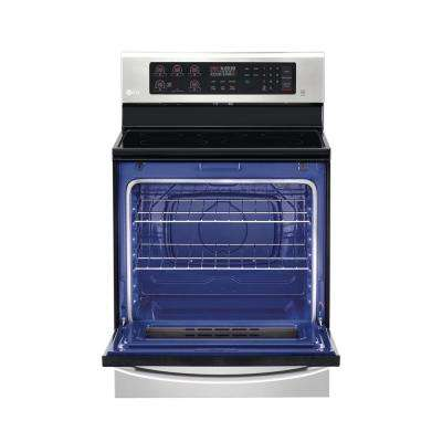 6.3 cu. ft. Single Oven Electric Range with in Stainless Steel with UltraHeat Burner