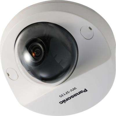 H.264 Wired 640p HD Dome Network Security Camera with 4X Digital Zoom