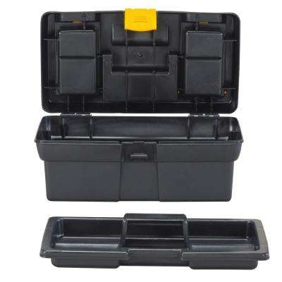 12-1/2 in. Tool Box with Lid Organizers