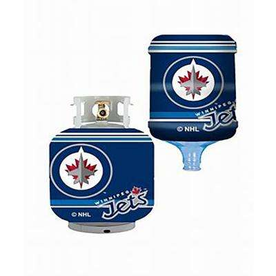 Winnipeg Jets Propane Tank Cover/5 Gal. Water Cooler Cover
