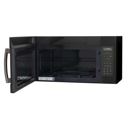 1.9 cu. ft. Over the Range Microwave in Black Slate with Sensor Cooking, Fingerprint Resistant