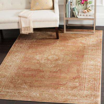 Vintage Taupe 7 ft. x 9 ft. Area Rug