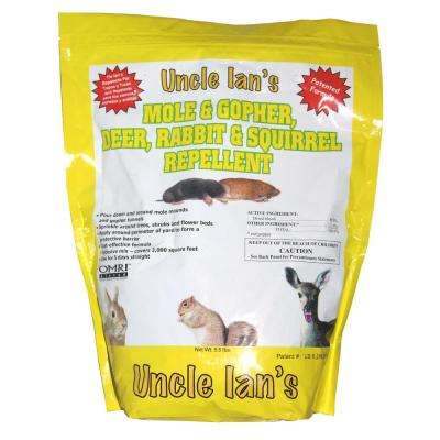 Uncle Ian's 5.5 lb. Mole and Gopher Repellent