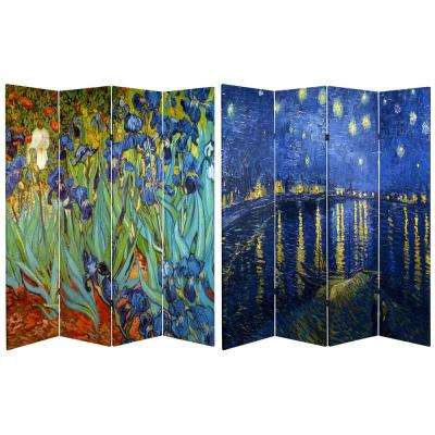 Printed 4 Panel Room Divider
