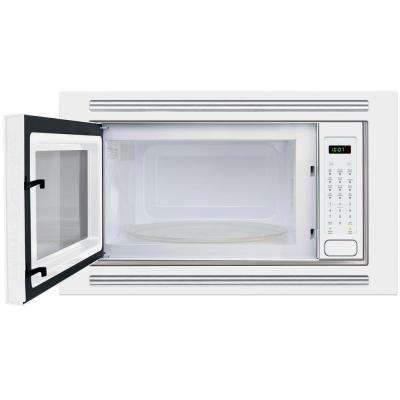 2.0 cu. ft. Built-In Microwave in White with Sensor Cooking