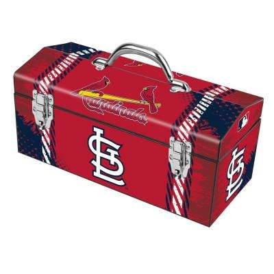 16 in. St. Louis Cardinals MLB Tool Box