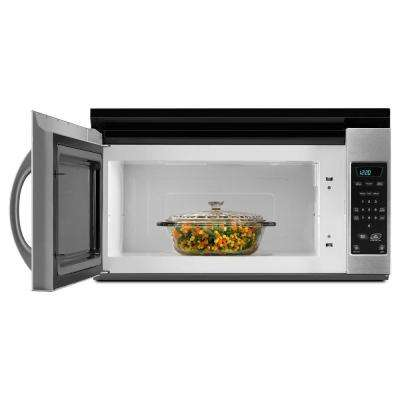 1.5 cu. ft. Over the Range Microwave in Black