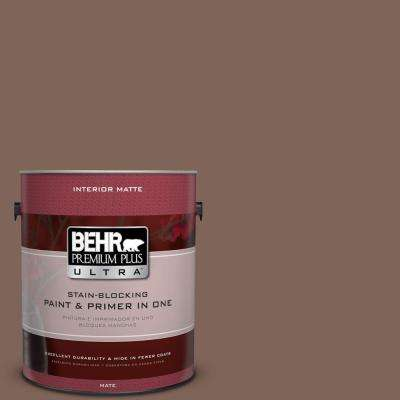 Home Decorators Collection 1 gal. #HDC-AC-05 Cocoa Shell Flat/Matte Interior Paint