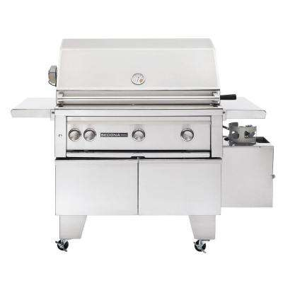3-Burner ADA-Compliant Stainless Steel Natural Gas Grill with Rotisserie