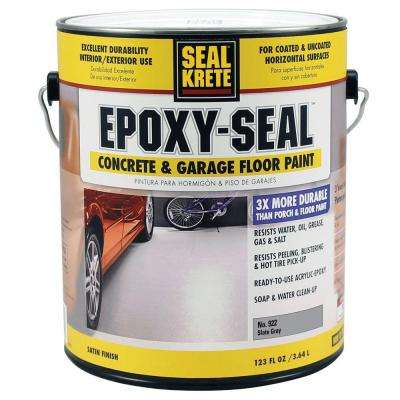 Epoxy Seal Slate Gray 922 1 gal. Concrete and Garage Floor Paint