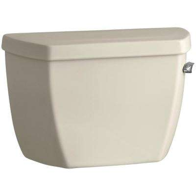Highline Classic 1.6 GPF Single Flush Toilet Tank Only in Almond