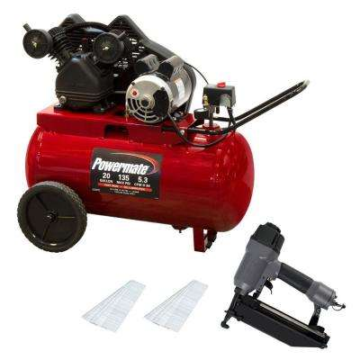 20 gal. Portable Air Compressor Kit