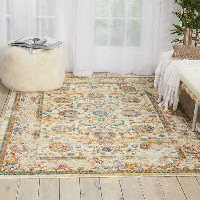Delmar Cream 2 ft. x 6 ft. Runner Rug