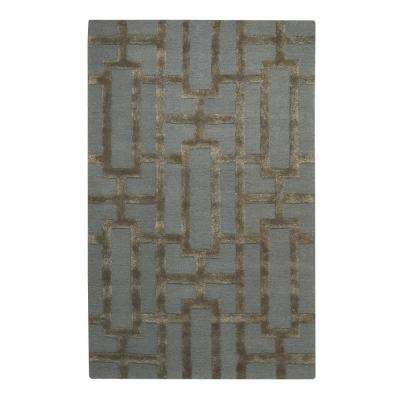 Classic Steel 9 ft. 6 in. x 13 ft. 6 in. Area Rug