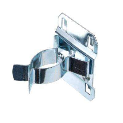 1-1/2 in. - 2-3/4 in. Hold Range 3-3/4 in. Projection Steel Extended Spring Clip for LocBoard (5-Pack)
