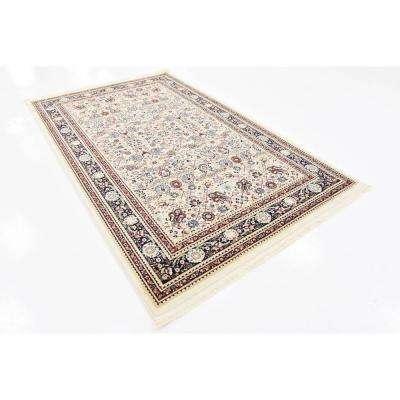 Bazaar Hafez Cream 5' 0 x 8' 0 Area Rug