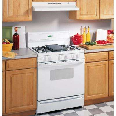 30 in. Non-Vented Range Hood in White