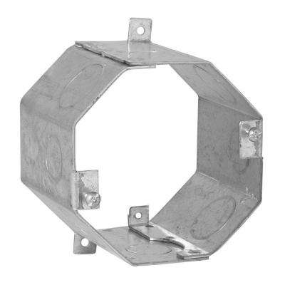 4 in. Octagon Welded Concrete Ring, 3 in. Deep with 1/2 and 3/4 in. Knockouts (25-Pack)