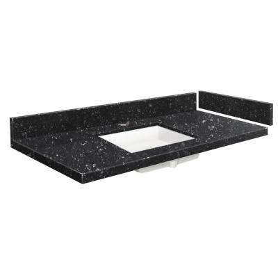 42.5 in. - 49.5 in. W x 22.25 in. D Quartz Vanity Top