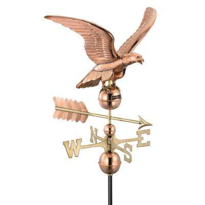 Smithsonian Polished Copper Eagle Weathervane