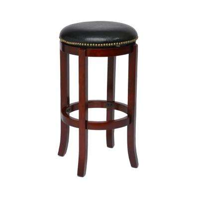 Cordova 29 in. Cherry Barstool