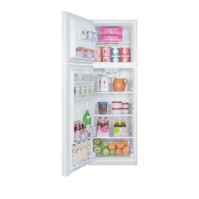 8.8 cu. ft. Built-in Top Freezer Refrigerator in White