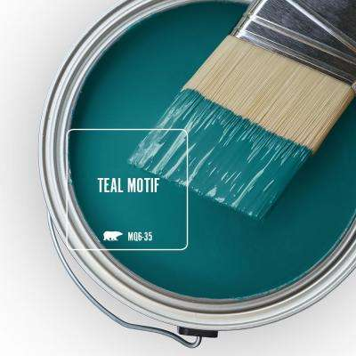 MQ6-35 Teal Motif Paint