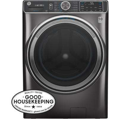5.0 cu. ft. Diamond Gray Front Load Washing Machine with OdorBlock UltraFresh Vent System with Sanitize and Allergen