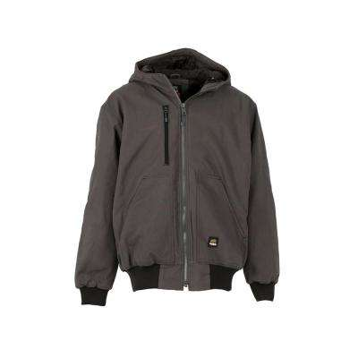 Men's 100% Cotton Modern Hooded Jacket