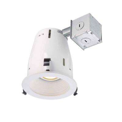 4 in. White Recessed Baffle Kit
