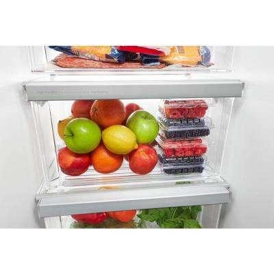 33 in. W 22 cu. ft. Side by Side Refrigerator in Black