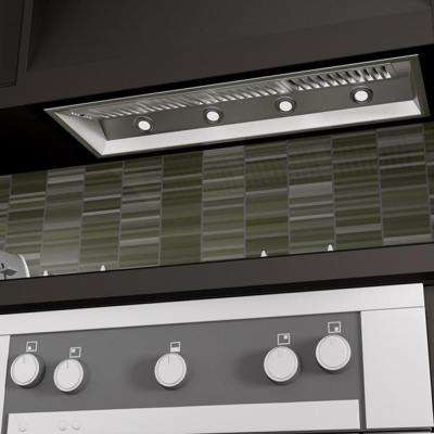 ZLINE 46 in. 1200 CFM Insert Range Hood in Stainless Steel
