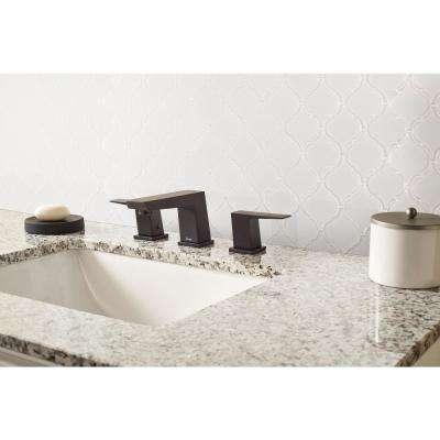 Retro Bianco Arabesque 10.63 in. x 8.84 in. x 6mm Glazed Porcelain Mesh-Mounted Mosaic Tile (10.95 sq. ft. / case)