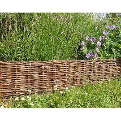 4 ft. Woven Willow Edging