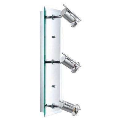 Tamara 3-Light Chrome Wall/Ceiling Flushmount