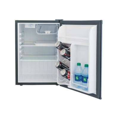 2.6 cu. ft. Mini Fridge in Black, ENERGY STAR