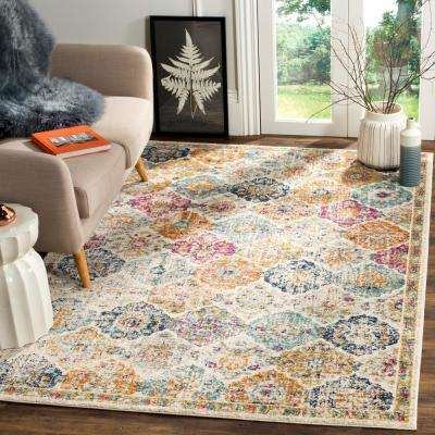 Madison Cream/Multi 5 ft. x 8 ft. Area Rug