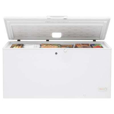 15.7 cu. ft. Chest Freezer in White