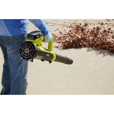 ONE+ 90 MPH 200 CFM 18-Volt Lithium-Ion Cordless Leaf Blower/Sweeper - 2.0 Ah Battery and Charger Included
