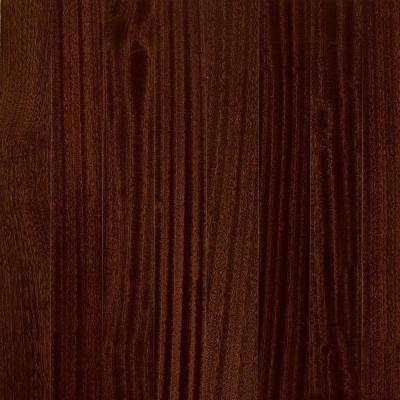 World Exotics Burnished Sable 3/8 in. T x 3-1/2 in. W x Random Length Engineered Hardwood Flooring (36.62 sq. ft./case)