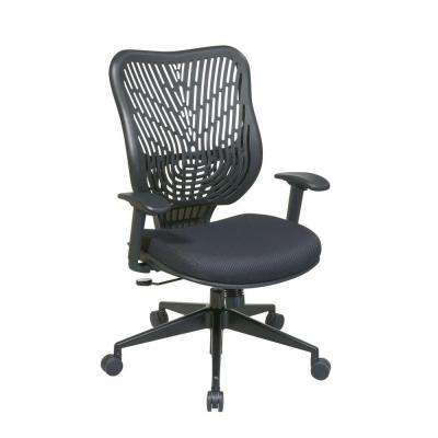Epic Black Self Adjusting Manager Office Chair
