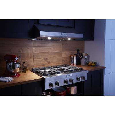 36 in. Under the Cabinet Commercial-Style Range Hood in Stainless Steel