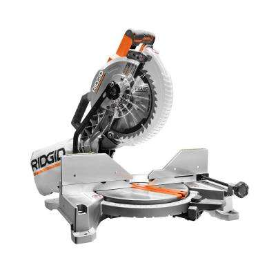 15 Amp 10 in. Dual Bevel Miter Saw with Laser