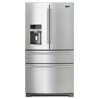 36 in. W 26.2 cu. ft. French Door Refrigerator in Fingerprint Resistant Stainless Steel