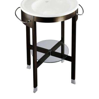 Iron Works Tellieur Console Table in Black Forest-DISCONTINUED